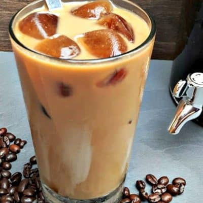 Iced Latte in a glass