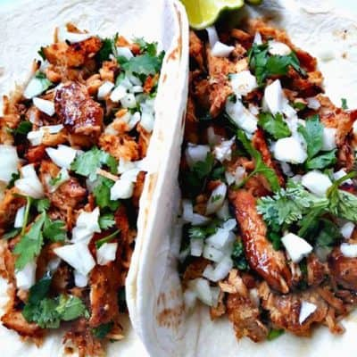 Pulled Pork Carnitas (Mexican Tacos)