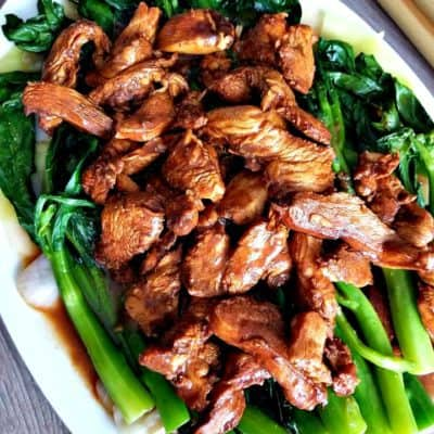 Chinese Chicken Broccoli and Cabbage Stir fry