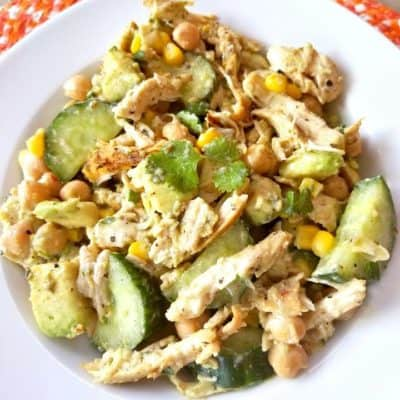 avocado chicken salad keto