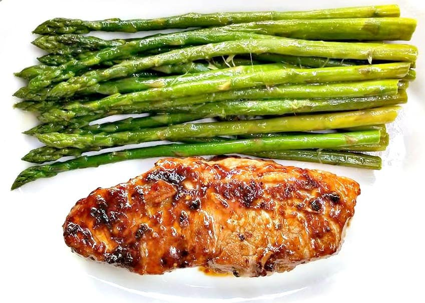 Steak and asparagus recipe