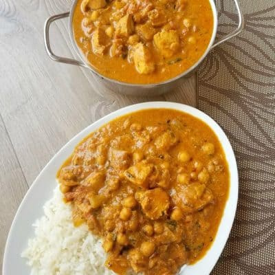 Chicken Chickpea Curry