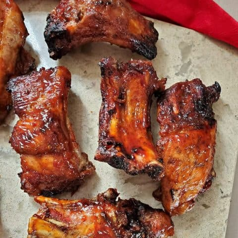 air fryer bbq ribs